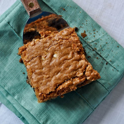 Triple Layer Chocolate Chip-Fudge Brownie-Peanut Butter Blondie Bars