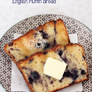 Blueberry English Muffin Toasting Bread