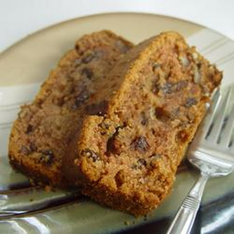 Applesauce Raisin Cake No Sugar