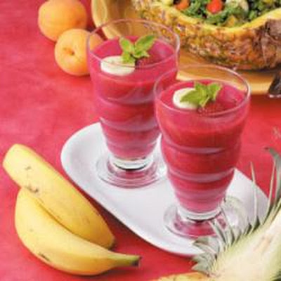 Pineapple Sunrise Smoothies