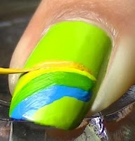 Screenshot of Latest Nail Art Designs