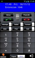 Screenshot of Eircom Advantage Softphone