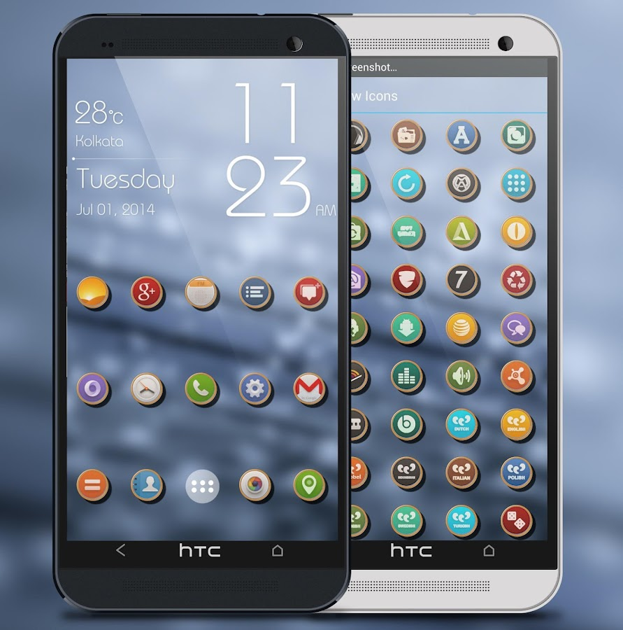 Shadow Themes -Icon Pack Screenshot 3