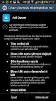 Screenshot of Turkcell Acil Durum
