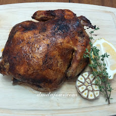 Slow Cooker Roasted Chicken with Brine