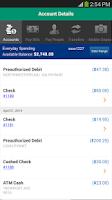 Screenshot of Citizens Bank Mobile Banking