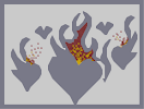 Thumbnail of the map 'A heart burning for you'