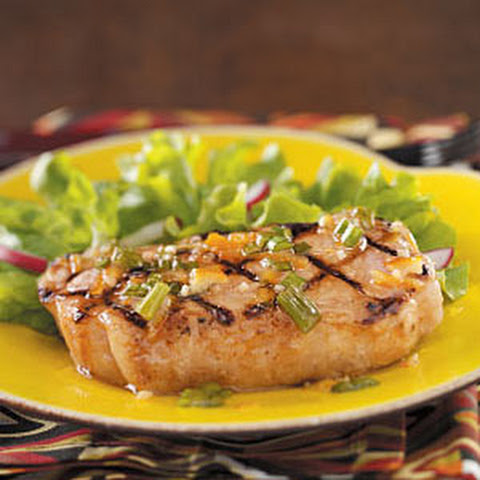 orange marmalade pork paillards with orange marmalade vinaigrette pork ...