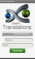 Screenshot of Smart Translations