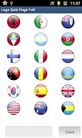 Screenshot of Logo Quiz - Flags