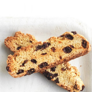 Rum-Soaked Raisin Biscotti