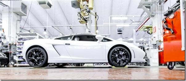 [Imagem] Lamborghini Gallardo LP560-4 - visão de perfil