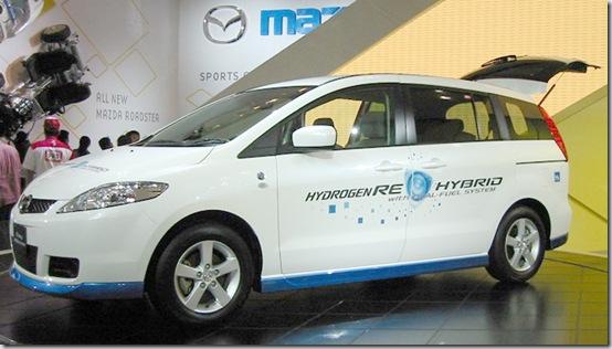 [Imagem] Mazda Premacy: o primeiro carro a hidrogênio do mundo