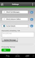 Screenshot of PrivacyStar - Cricket Wireless