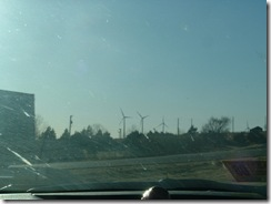 Wind mills in texas