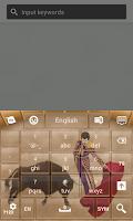Screenshot of Spain Keyboard