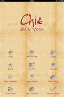 Screenshot of Chi Spa & Yoga
