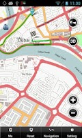 Screenshot of Dubai Map
