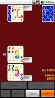 Screenshot of Blackjack Challenge Free
