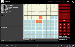 Screenshot of PCDB SuDoku Lite