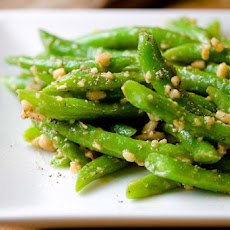 Green Bean and Walnut Salad (Mtsvani Lobios Pkhali)