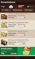 Screenshot of SPAR Chef