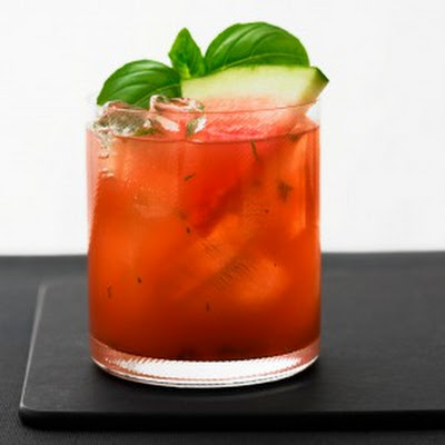 Basil Watermelon Cooler