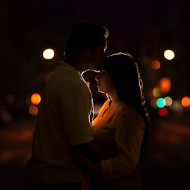 Night_Time_Photography by Swarup Mondal - People Couples ( night photography, wedding, pre wedding, couple, candid,  )