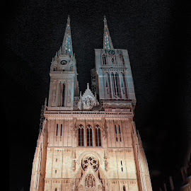 Zagreb Cathedral by Vladimir Jablanov - Buildings & Architecture Places of Worship