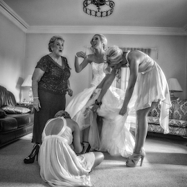 by Darrin James - Wedding Getting Ready