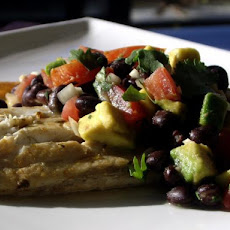 Catfish With Southwestern Relish