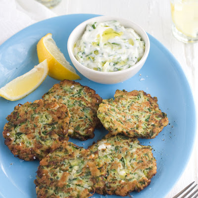 Feta And Zucchini Fritters