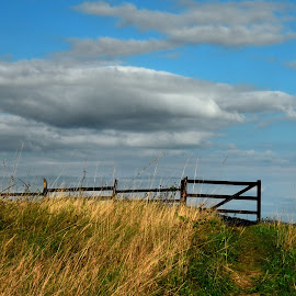 gates to the clouds by Ioana Draghiciu - Landscapes Cloud Formations ( clouds, landscape photography, gates )