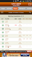 Screenshot of ESPN Fantasy Basketball