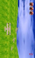 Screenshot of 3D plane defense HD