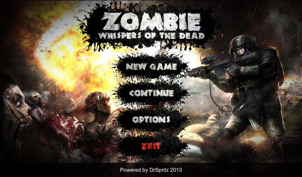 Zombie: Whispers of the Dead Screenshot