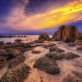 Magical Golden Hour by Mae Yeoh Mei Yin - Landscapes Beaches (  )