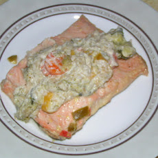 Lemon-Pepper and Vegetable Salmon