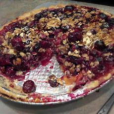 Nectarine and Berry Pie