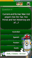 Screenshot of QuizTix: World Football Quiz