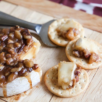 Nut Glazed Brie Recipe Ingredients