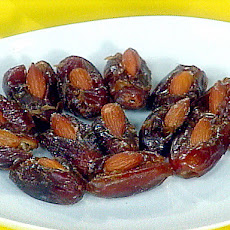 Smoked Almond Stuffed Dates