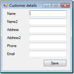 CustomerDetailsForm