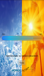 Real thermometer - screenshot