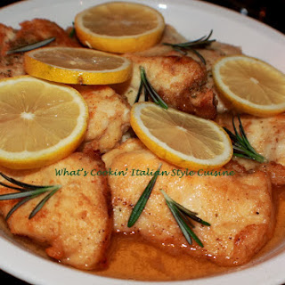 Lemon Rosemary Chicken Cutlet