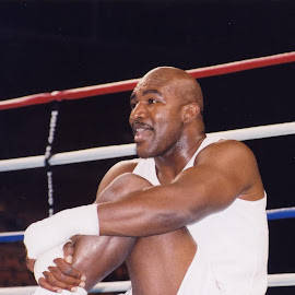 Evander Holyfield training. by Stephen Jones - Sports & Fitness Boxing