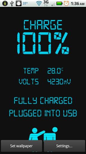 Digital Battery Status