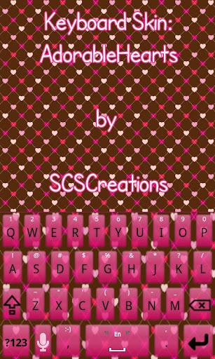 KB SKIN - Adorable Hearts