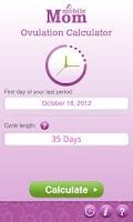 Screenshot of Ovulation Calendar & Fertility
