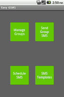 Screenshot of Easy Group SMS